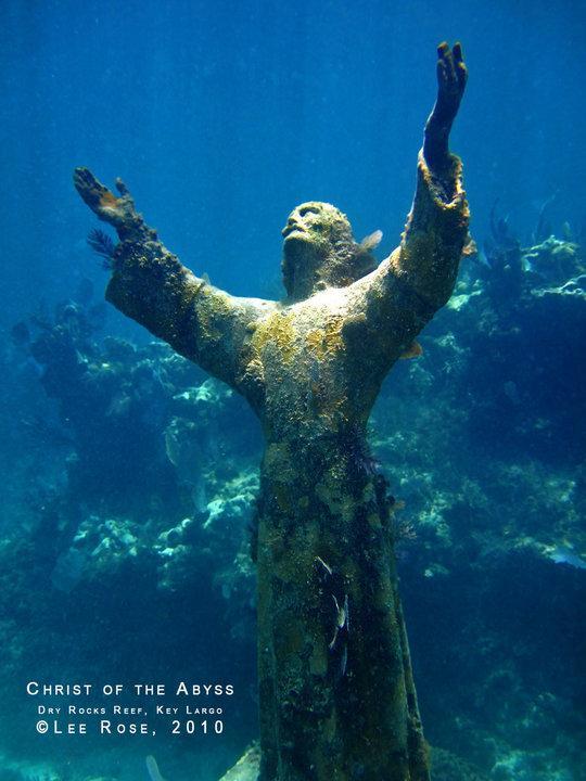 John pennekamp coral reef state park christ the redeemer for Spiegel jesus