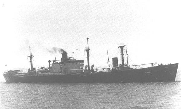 Alexander Ramsey (Liberty Ship) - In better times.