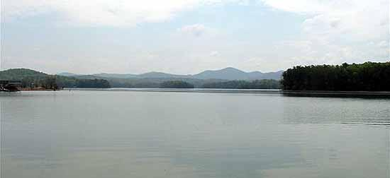 Lake blue ridge blue ridge ga for Lake blue ridge fishing