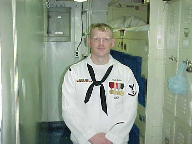 When I was Active Navy