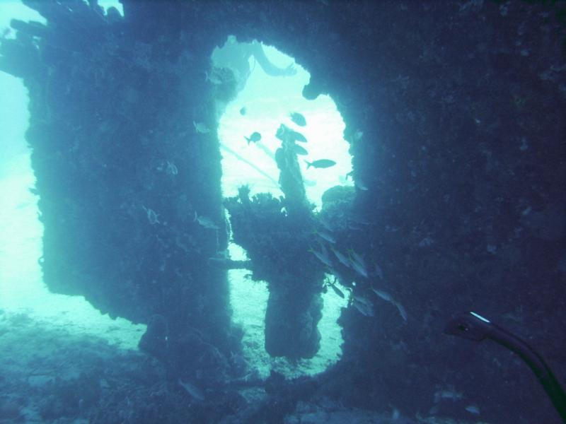 Wreck in St Lucia