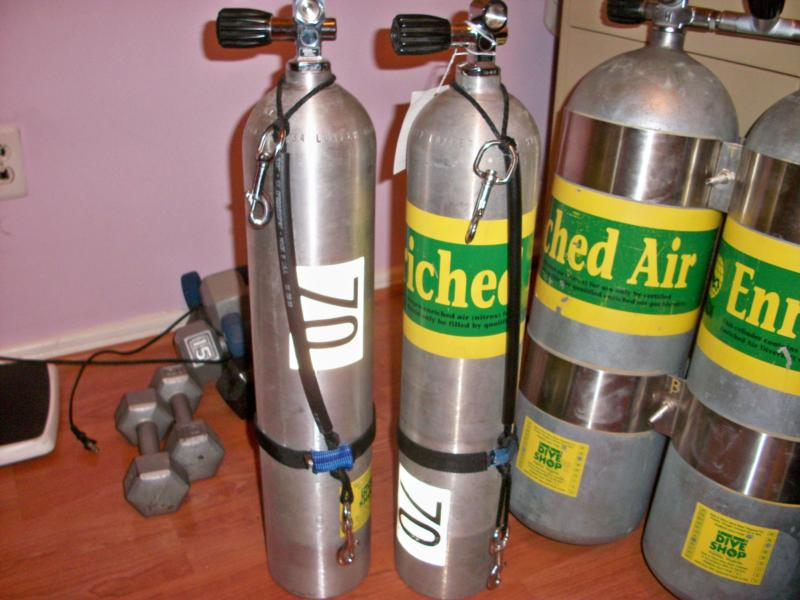 my new set of 40 cu ft luxfer deco bottles