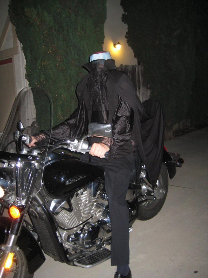 Lost my head on Halloween