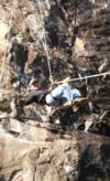 Rappelling - rebrown