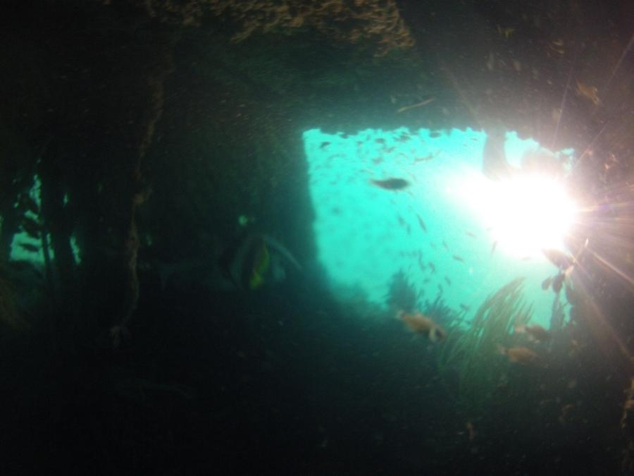 thru the wreck of Inchcape 10