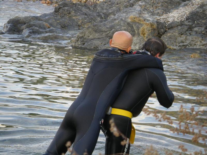 Rescue Course practise