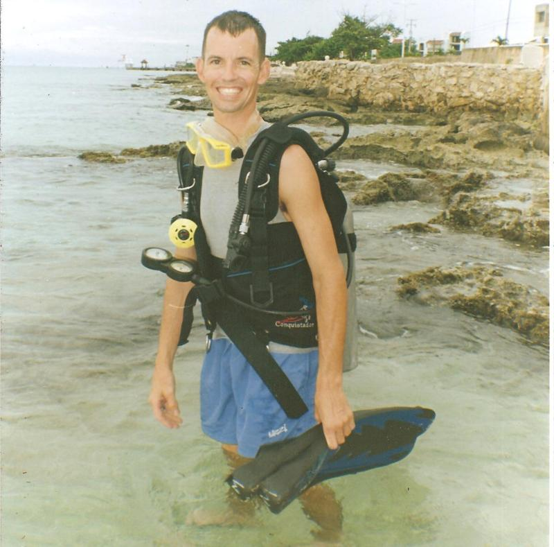 Me in Cozumel