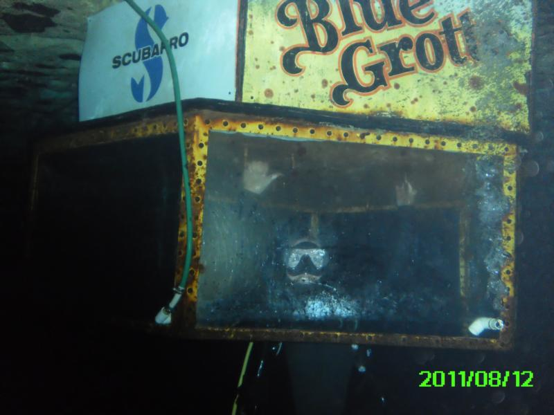 Blue Grotto in the Dive Bell 8-12-11