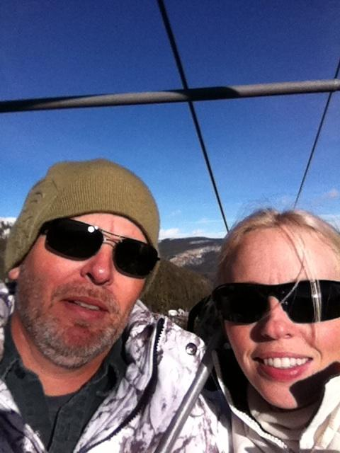 Brother and I, ski trip