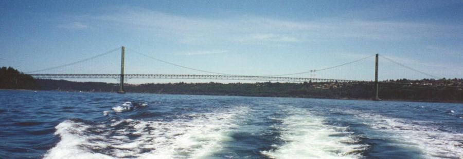 Tacoma Narrows, Puget Sound, WA