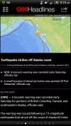 Alaska 6 inch tsunami - seriously?