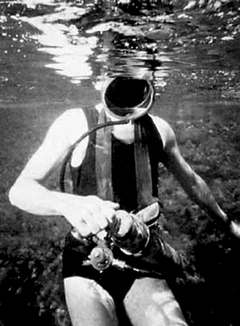 Scuba Diving Gear in History: 1924