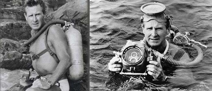 Scuba Diving Gear in History: 1957