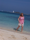 My beautiful wife in Nassau