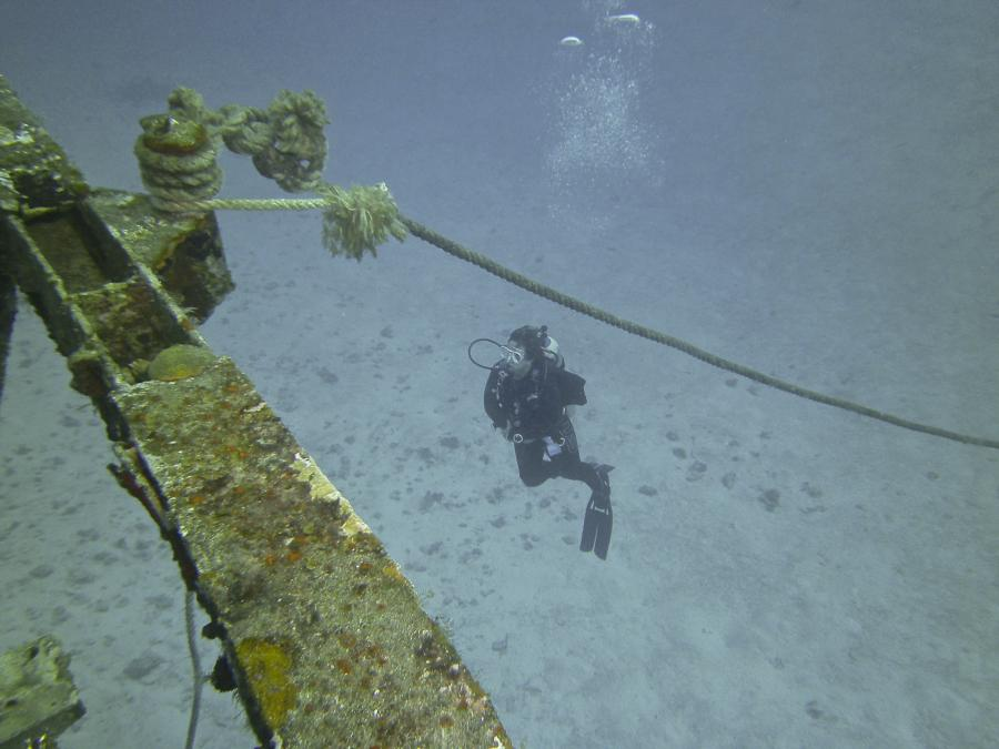 C-53 Wreck in Cozumel