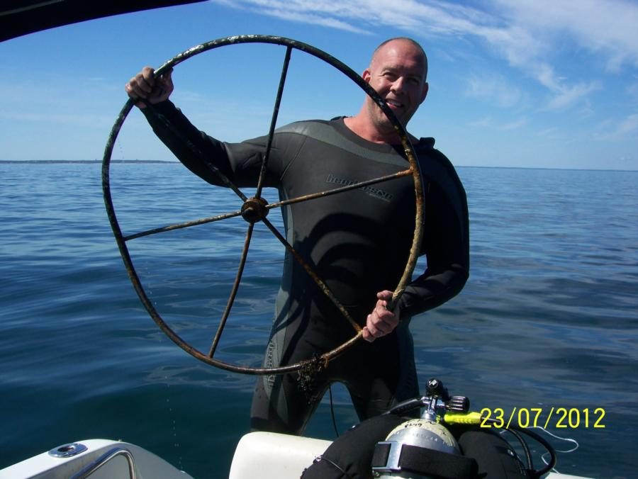 Wheel Recovered from shipwreck