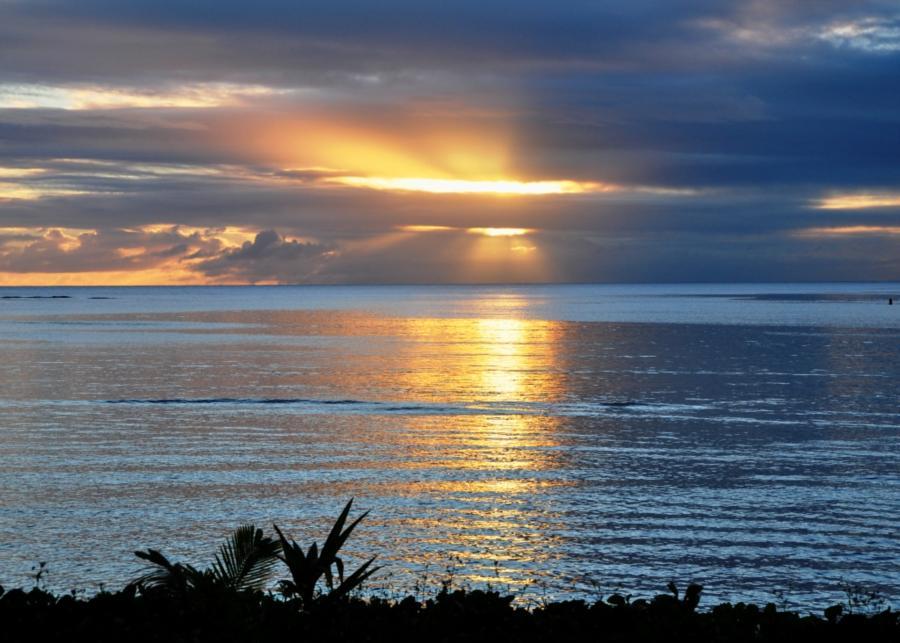Chalan Kanoa sunset