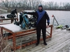 winter diving