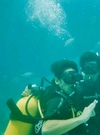 One of my first dives on my OW certification!