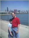 My daughter and I in Chicago