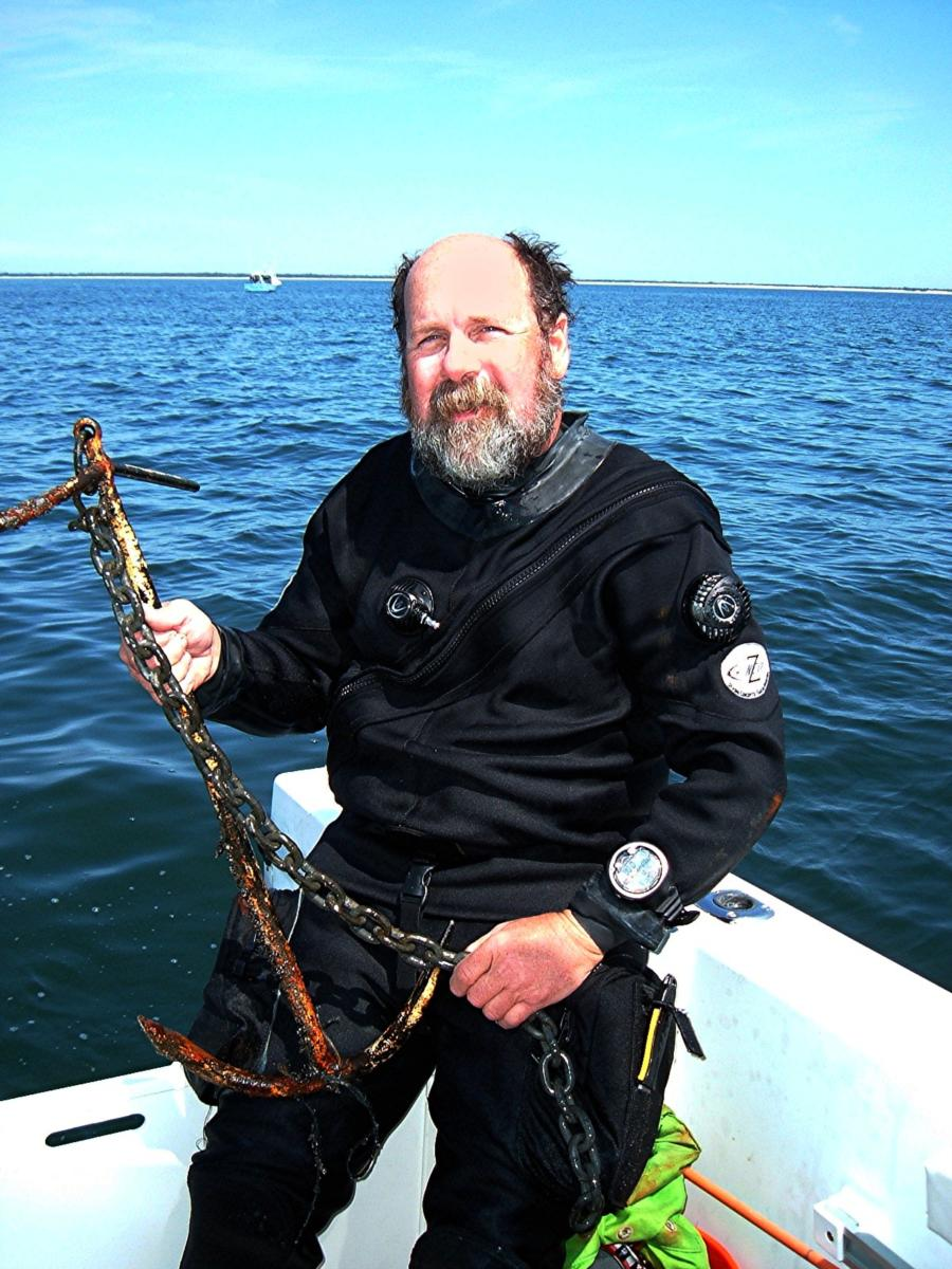 Anchor recovered from St George wreck