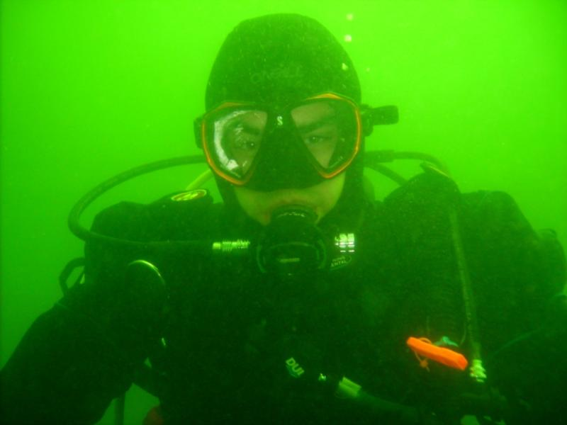 Diving at Folly Point