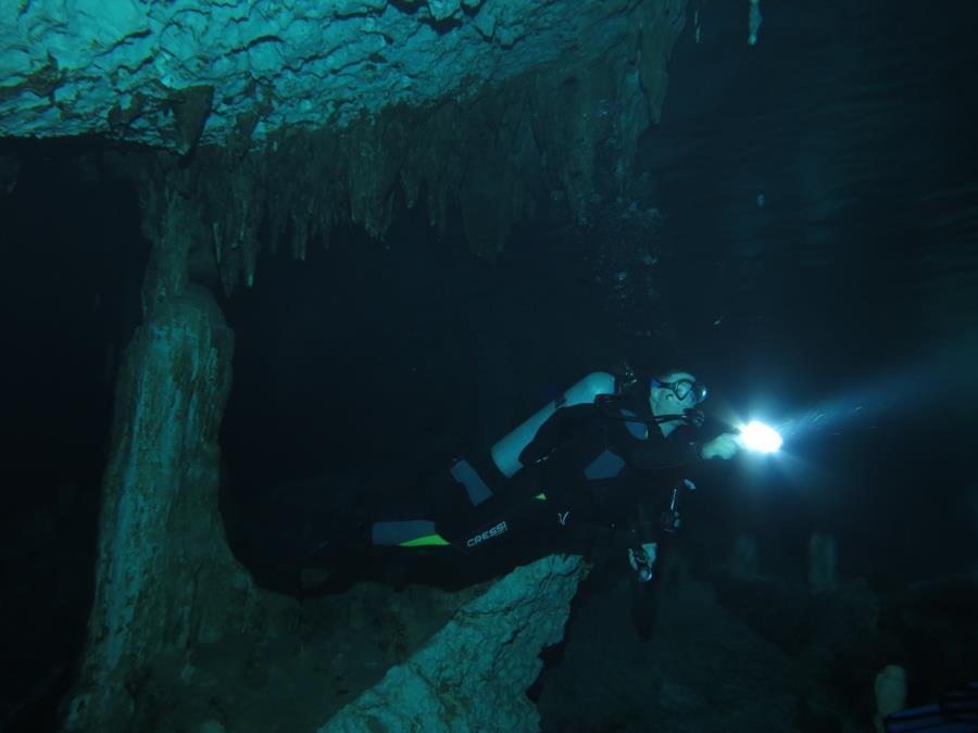Mexico Cave Dive 3