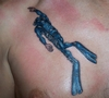 My latest ink..Hours old..ouch..lol.