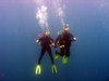 Me &amp; Hubby diving Panama City Beach, FL
