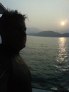 evening before a night dive-Sai Kung, Hong Kong