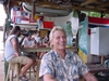 Bill after all you can eat Lobster at the Hole in the Wall Grill, Roatan Honduras
