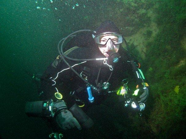 Deep Diving at Gilboa Quarry