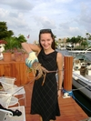 My Wife Jelena with Lobster - Pompano Beach, FL