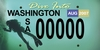 the new washington plate, just for us divers!