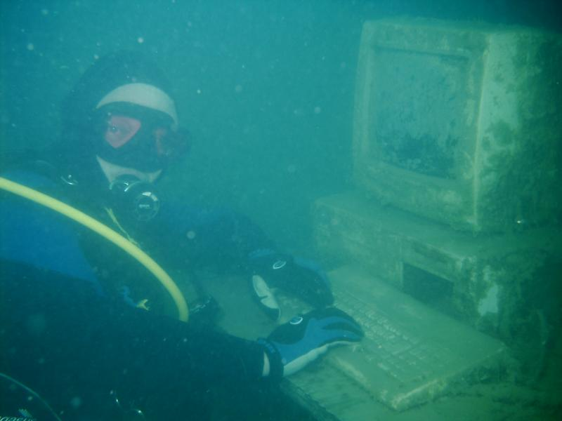 Image result for underwater computer