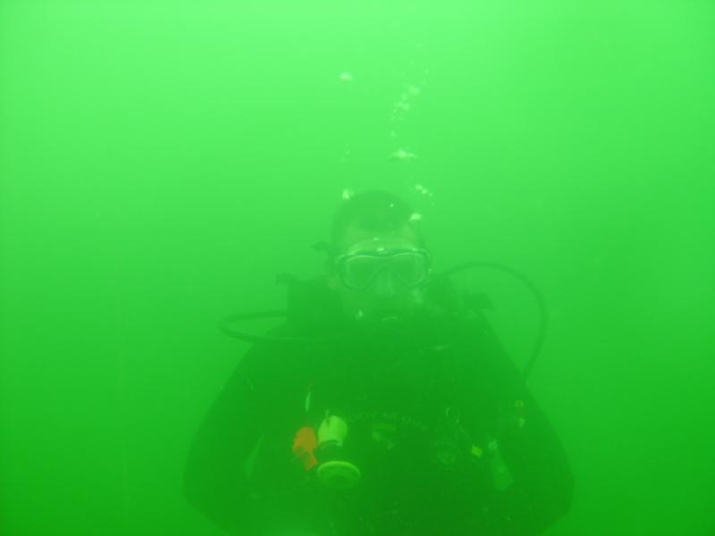 Roger (divebuddy screen name mrcorvett96) at Clear Springs