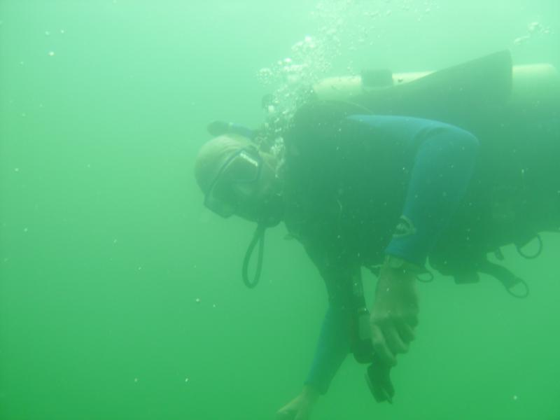 Dive Buddy Will at Clear Springs