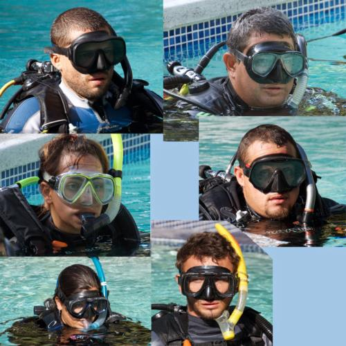 Transformation as a PADI scuba Instructor, Good luck with the IE