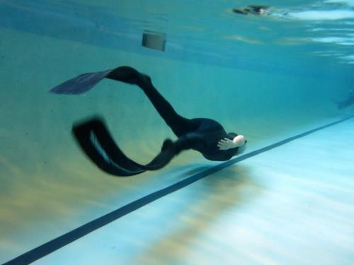 Learning to freedive: Part 1