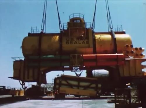 Video of SeaLab III - US Navy Aquanauts Experiment 1969