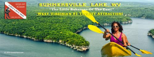"Summersville Lake - ""The Little Bahamas of The East!"""