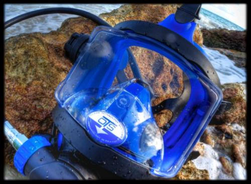 Scuba Diving in a Full Face Mask (FFM)