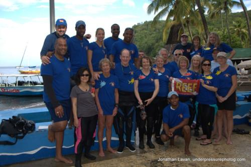 Citizen Science Diving in St Lucia!