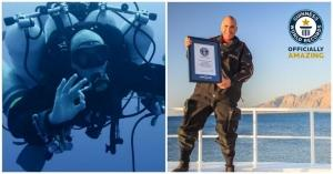 New World Record for Deepest Scuba Dive 332 m (1,090 ft)
