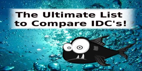 The Ultimate List to Compare IDCs!