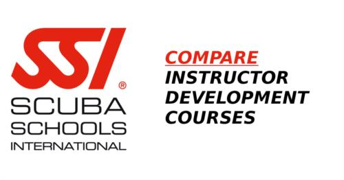 Compare SSI Instructor Trainer Courses!