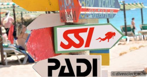 How Do You Crossover from PADI to SSI?