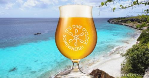 Dive O'Clock Beer on Bonaire!