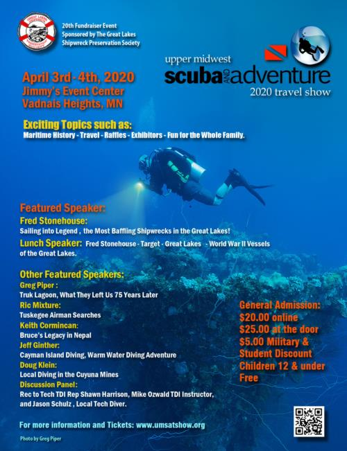 Upper Midwest Scuba & Adventure Travel Show