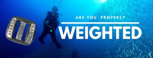 Are you properly weighted for your dive?